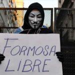 Protesta frente a la Casa de Formosa