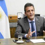 Massa, sobre los cambios en el Gabinete: «Quien elige a sus colaboradores es el Presidente»